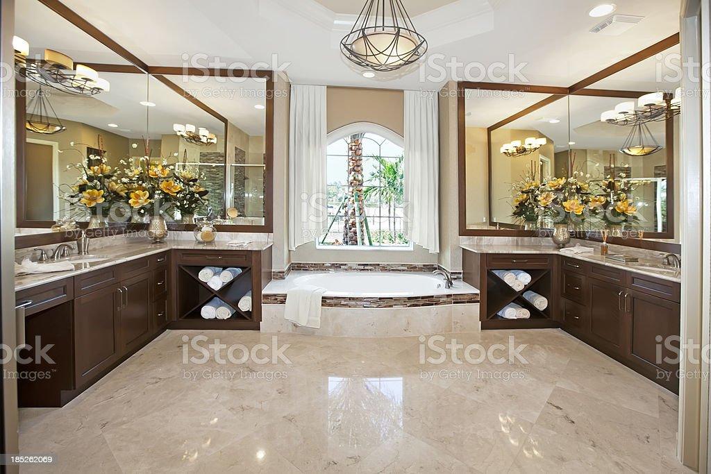 Architecture:Beautiful Bathroom royalty-free stock photo