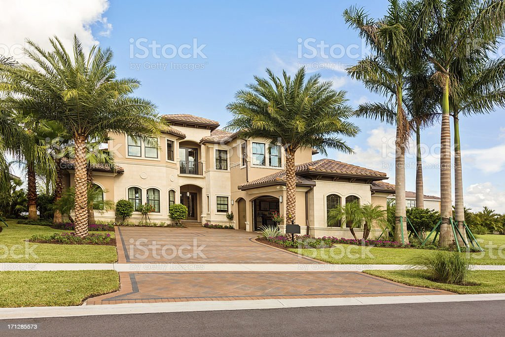 Architecture:Home Exterior stock photo