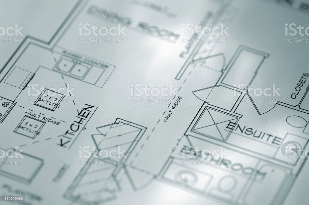architecural plans series royalty-free stock photo