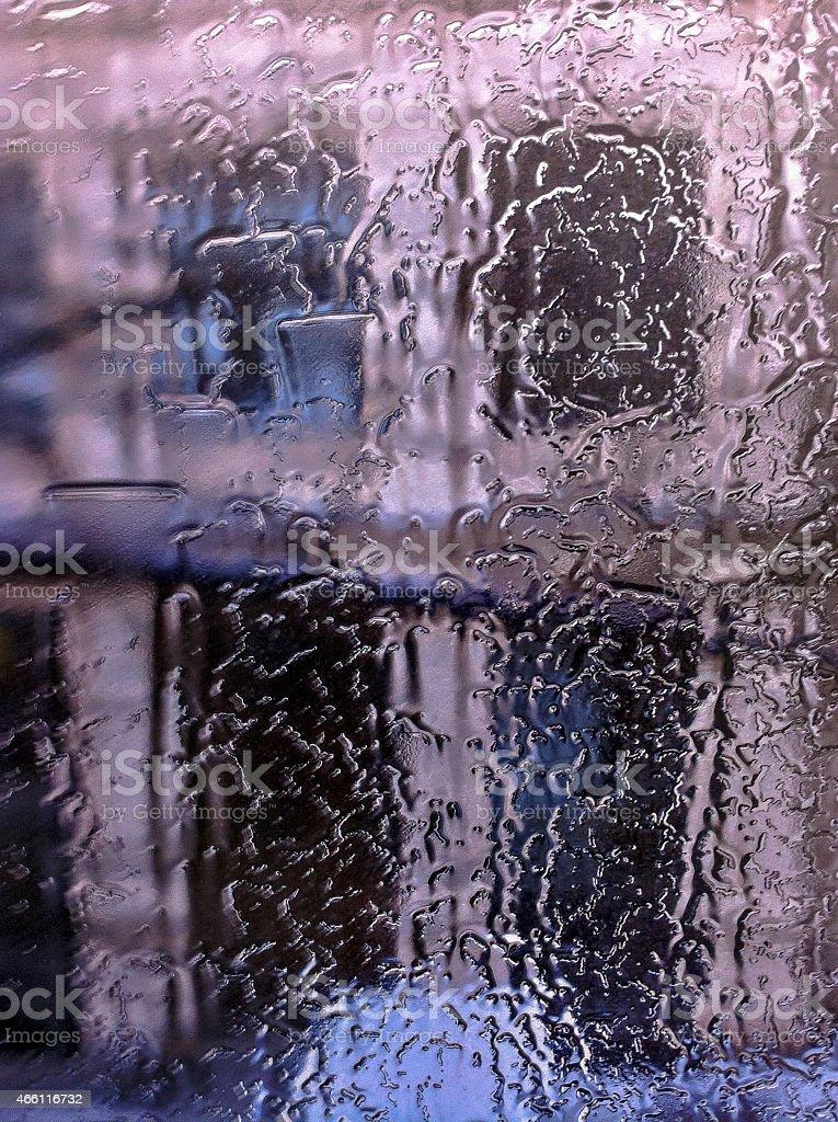 Architektur, Regen stock photo