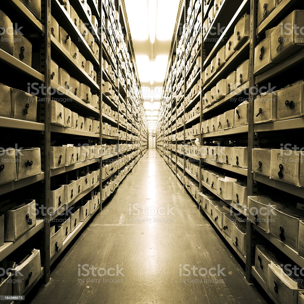 Archive stock photo