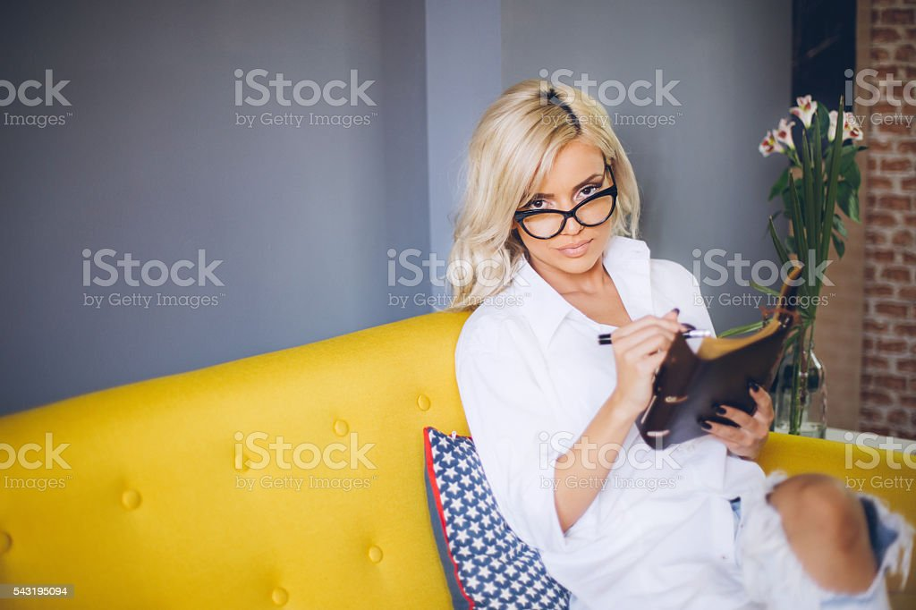 Archive your ideas! stock photo