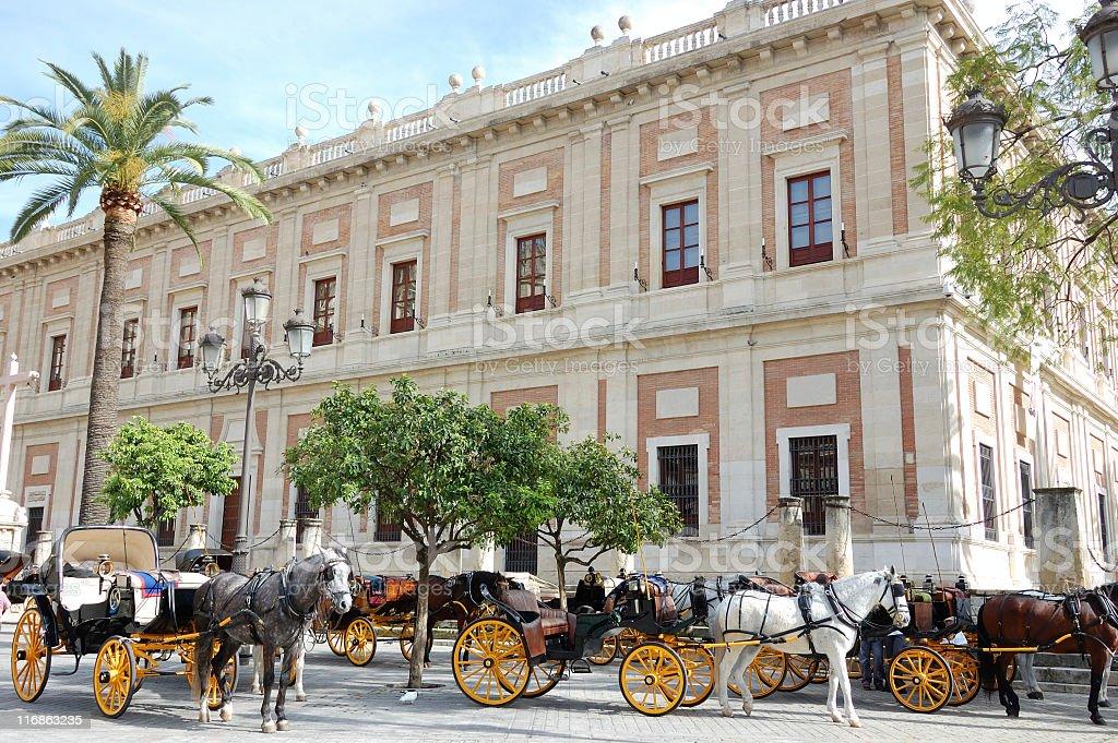 Archivo de Indias,Seville royalty-free stock photo