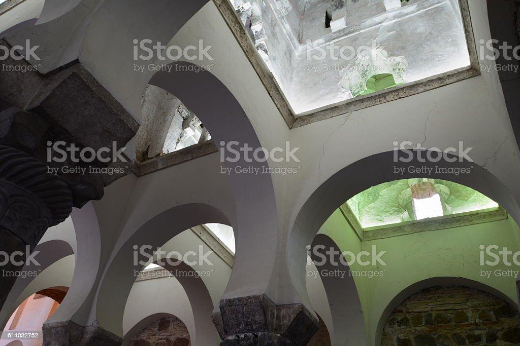 archs of the mosque foto de stock libre de derechos