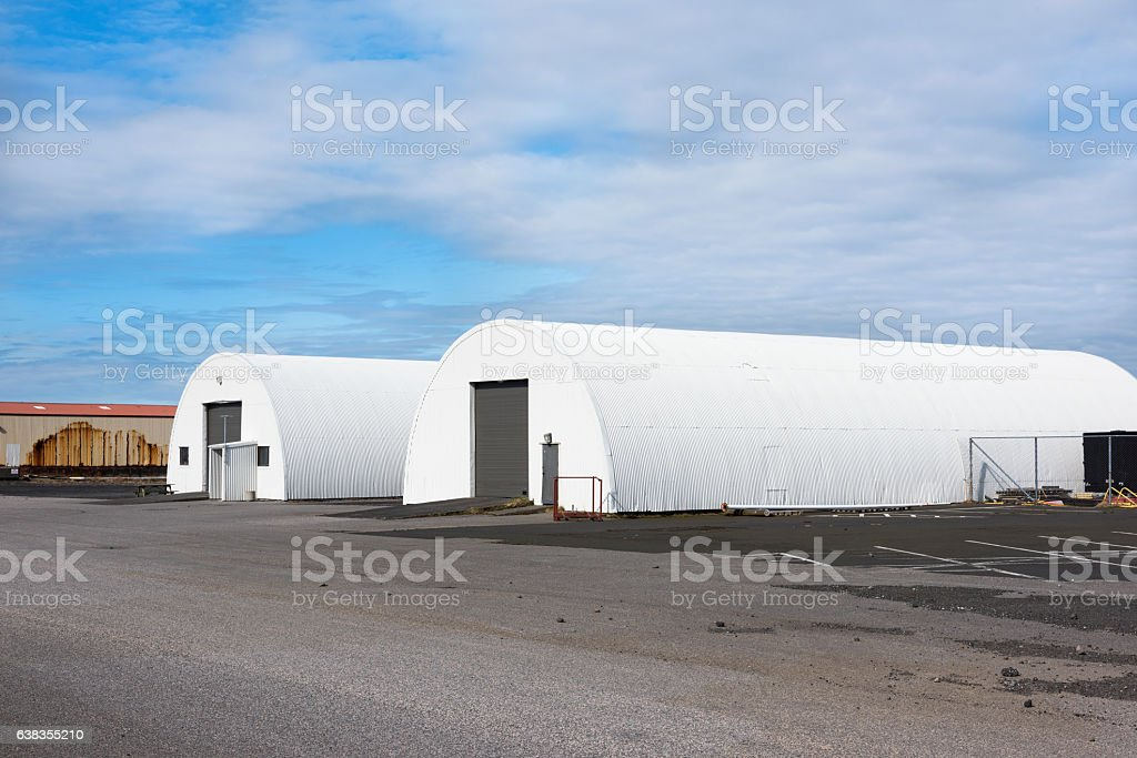 Arch-Style Building stock photo
