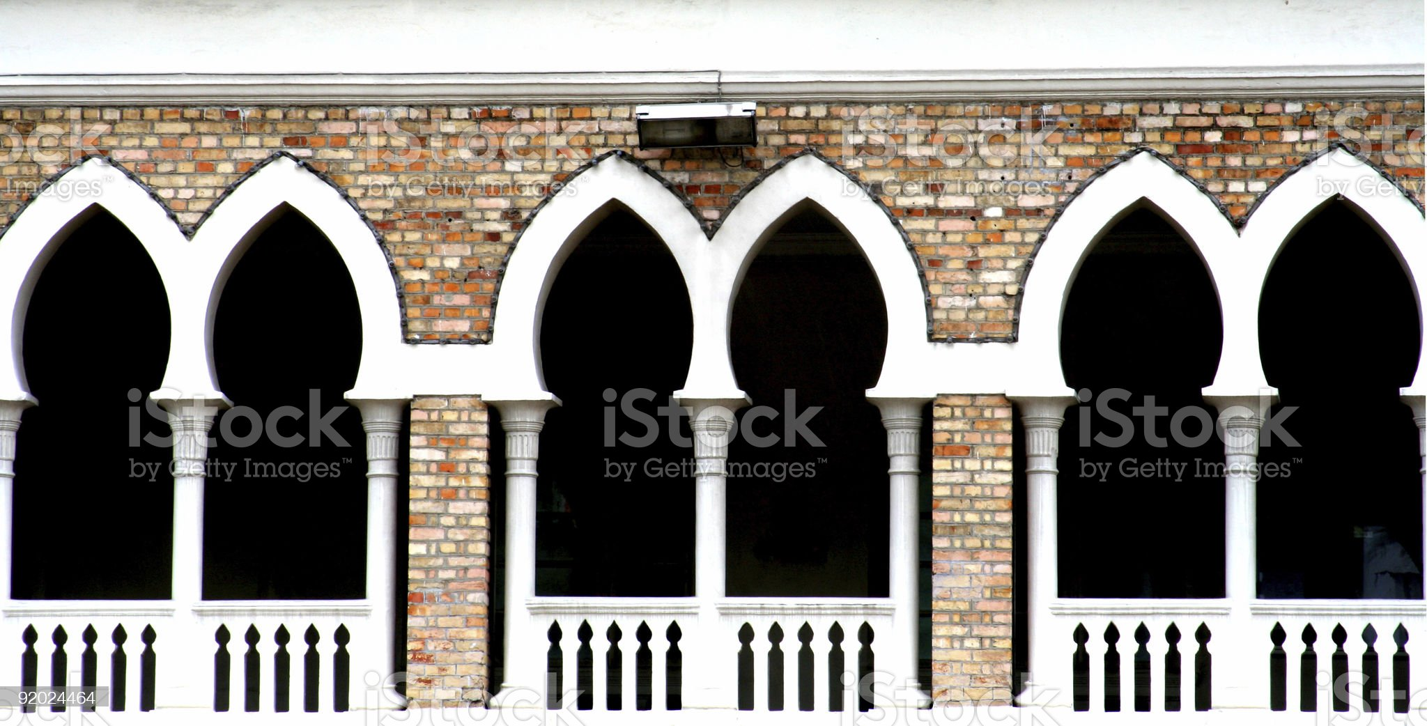Archway royalty-free stock photo
