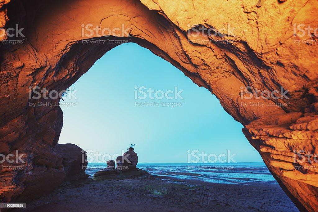 Arcing Sandstone royalty-free stock photo