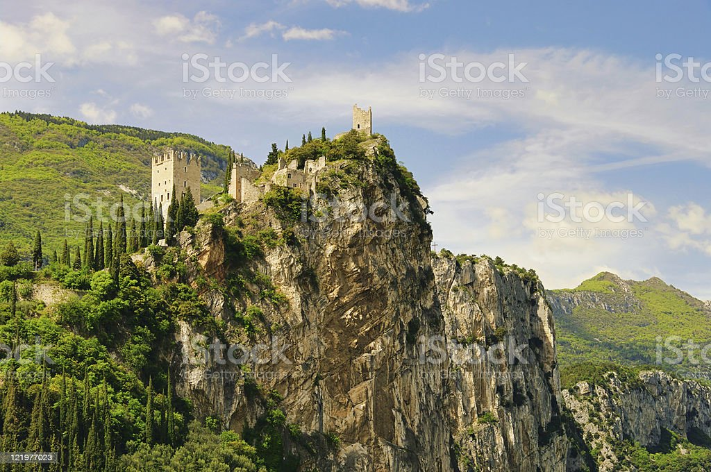 Arco castle royalty-free stock photo