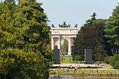Arco della Pace - Parco Sempione Milano Italy