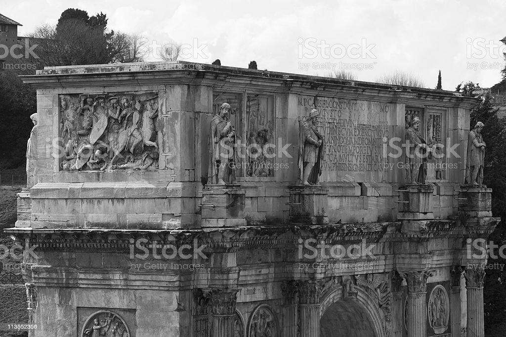 Arco di Costantino stock photo