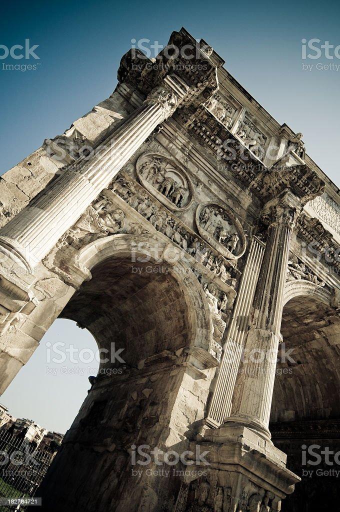 Arco di Costantino, Rome, Italy royalty-free stock photo