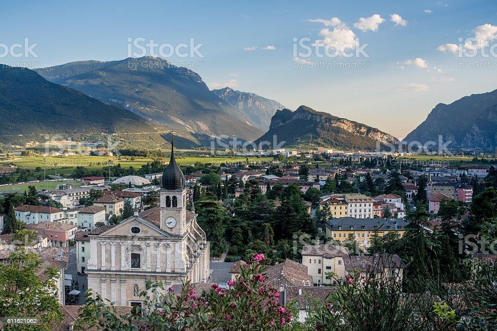 Arco , Trentino stock photo
