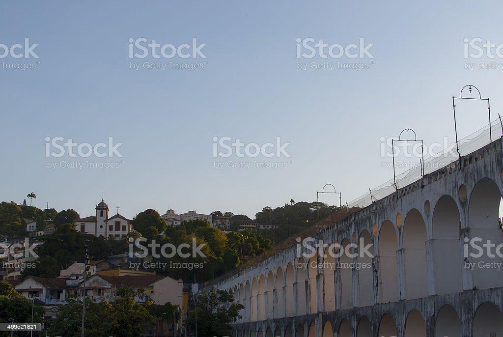 Arcos da Lapa stock photo