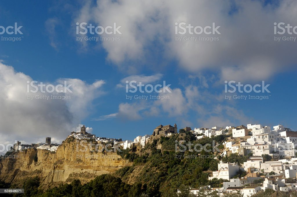 Arcos de la Frontera, Andalucia stock photo