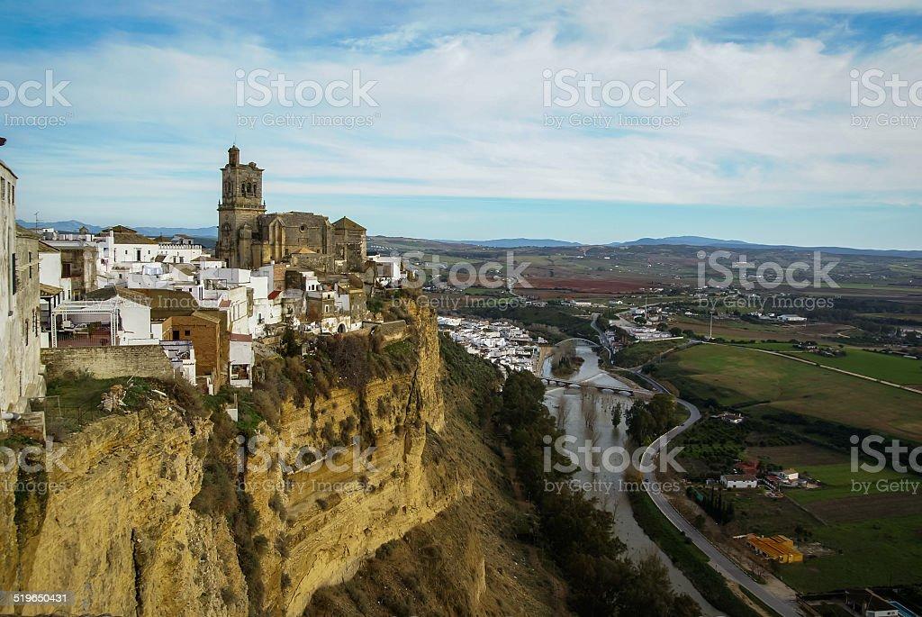 Arcos de la Frontera, Andalucia, Spain stock photo