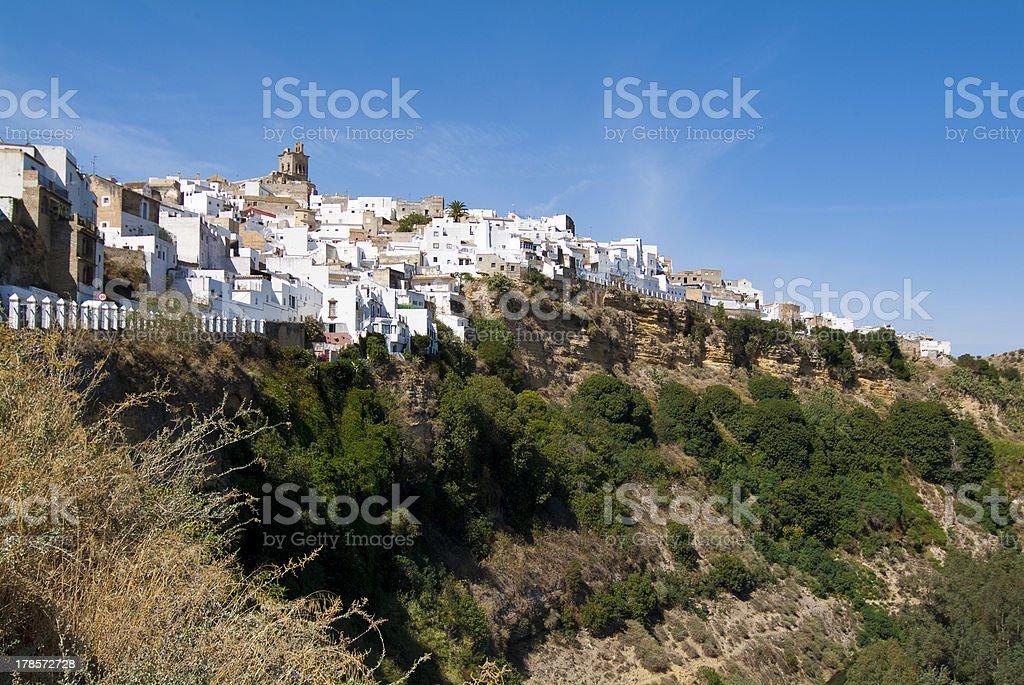Arcos de la Frontera. Cadiz. Andalucia. Espa?a. stock photo