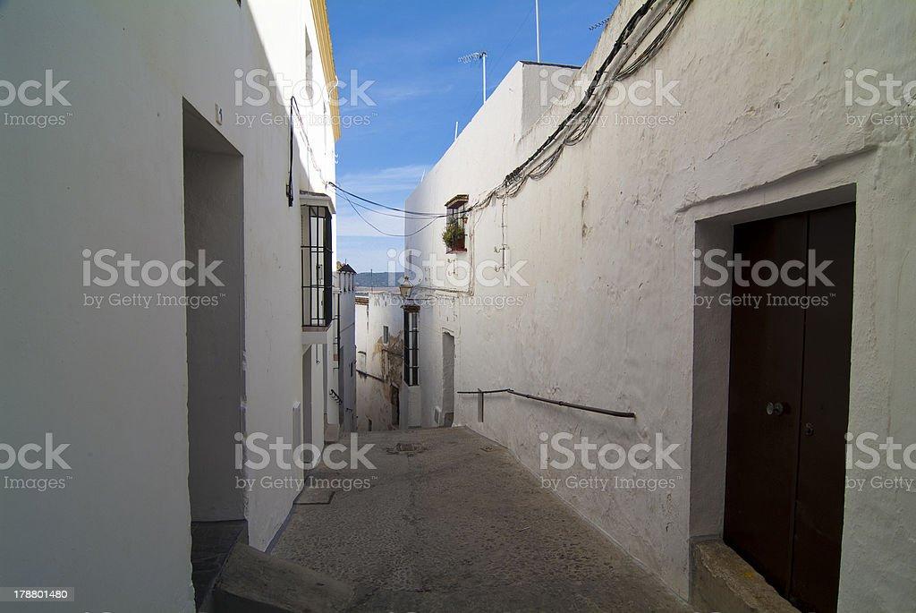 Arcos de la Frontera. Cadiz. Andalucia. Espa?a. royalty-free stock photo