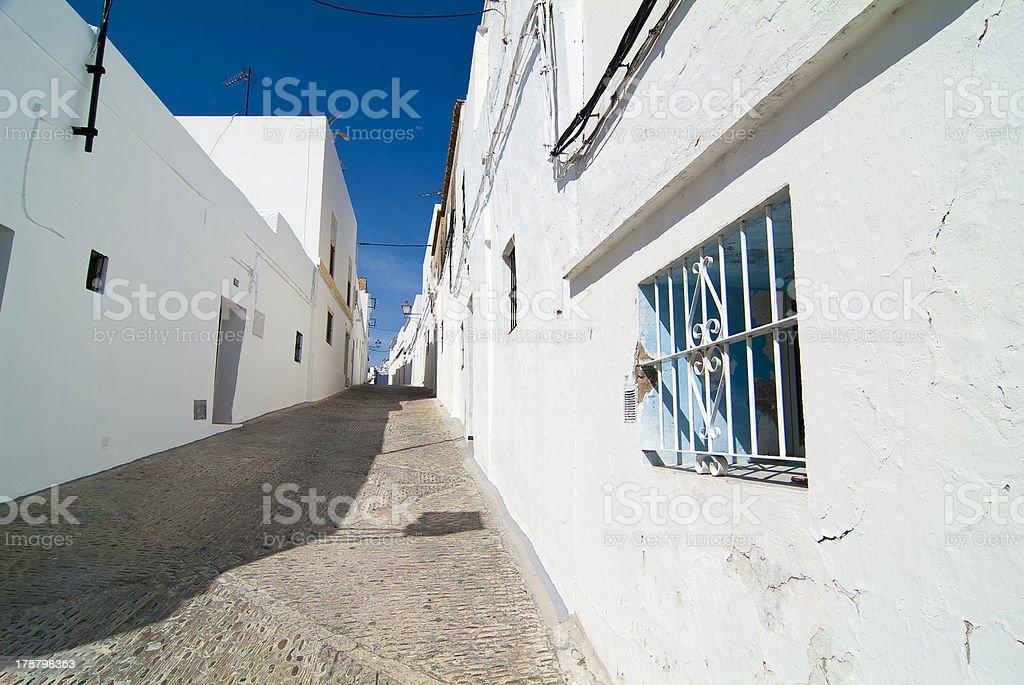 Arcos de la Frontera. Cadiz. Andalucia. Spain. stock photo