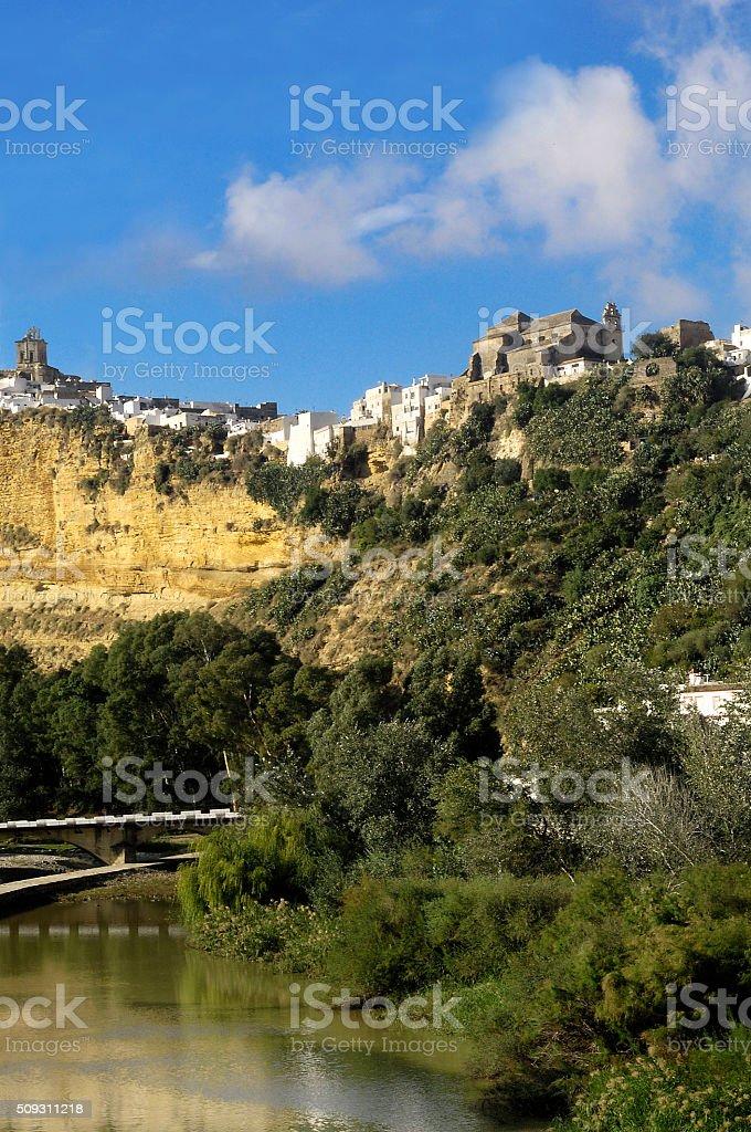 Arcos de la Frontera, Cadiz province , Andalusia,Spain stock photo