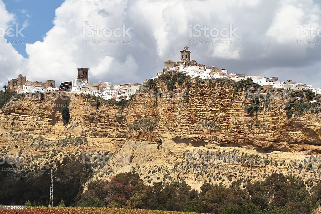 Arcos de la Frontera, Cadiz Province, Spain royalty-free stock photo