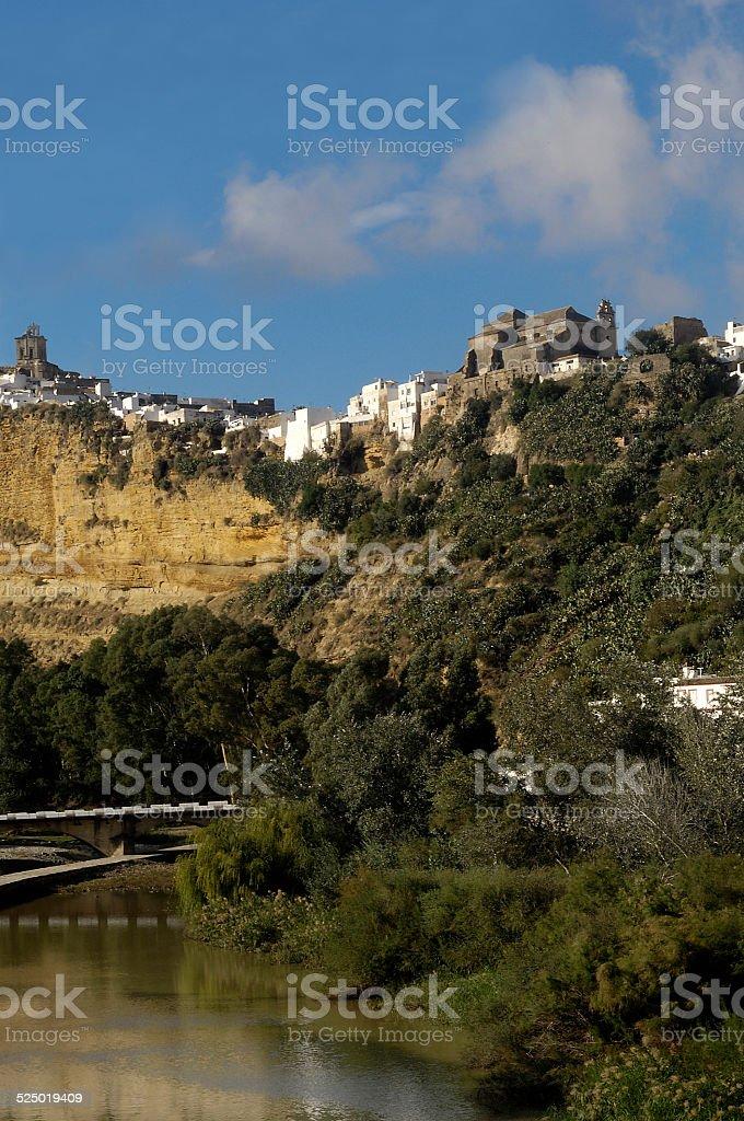 Arcos de la Frontera, Cadiz,España stock photo