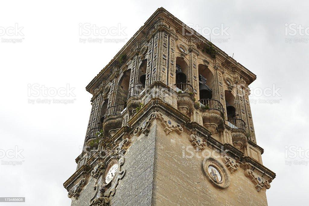 Arcos de la Frontera, C?diz. royalty-free stock photo