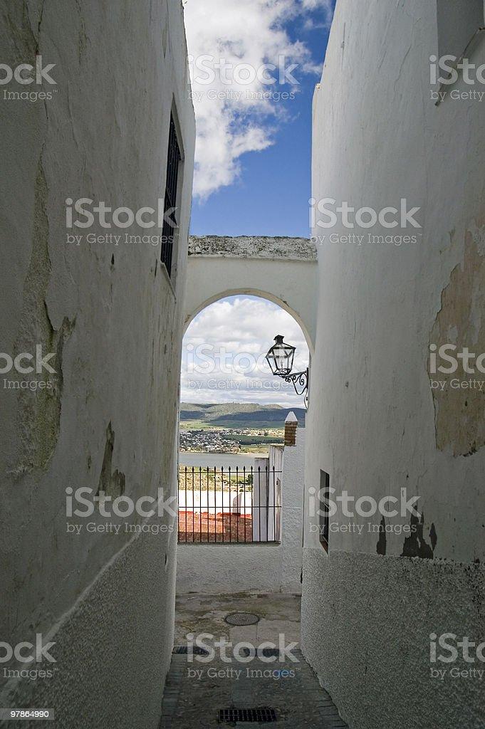 Arcos de la Frontera royalty-free stock photo