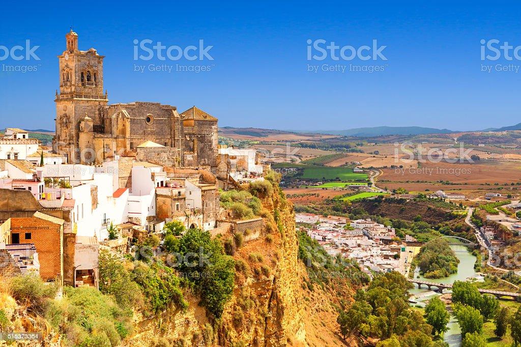 Arcos de la Frontera, Spain stock photo
