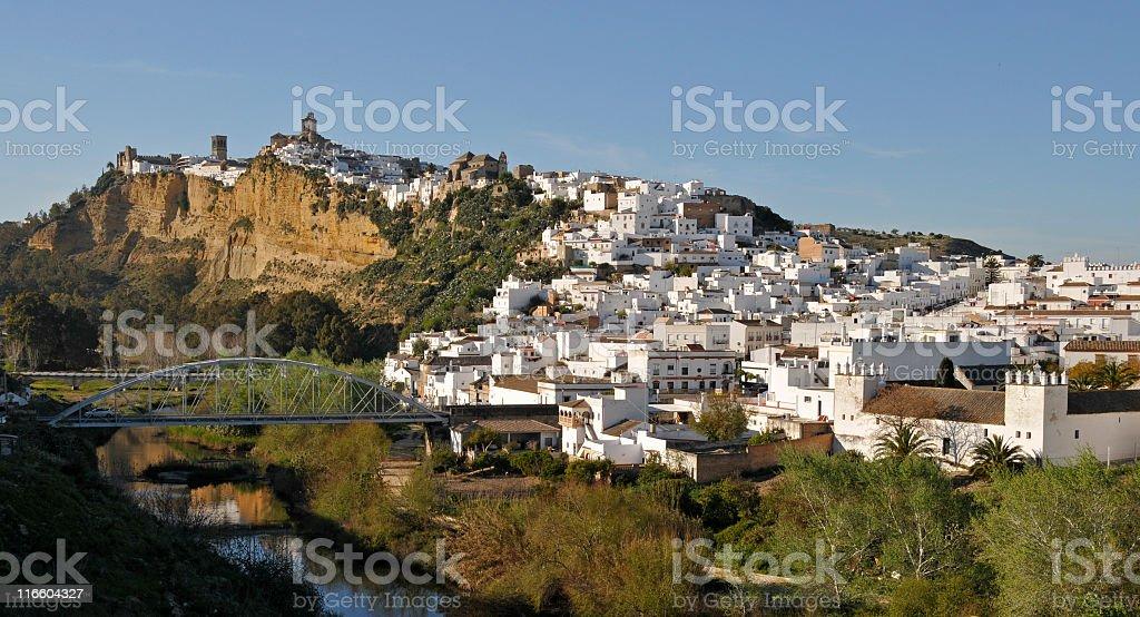 Arcos de la Frontera,Andalusia,Spain royalty-free stock photo