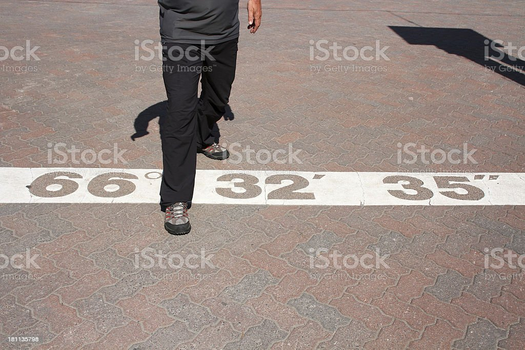 arctic circle step royalty-free stock photo