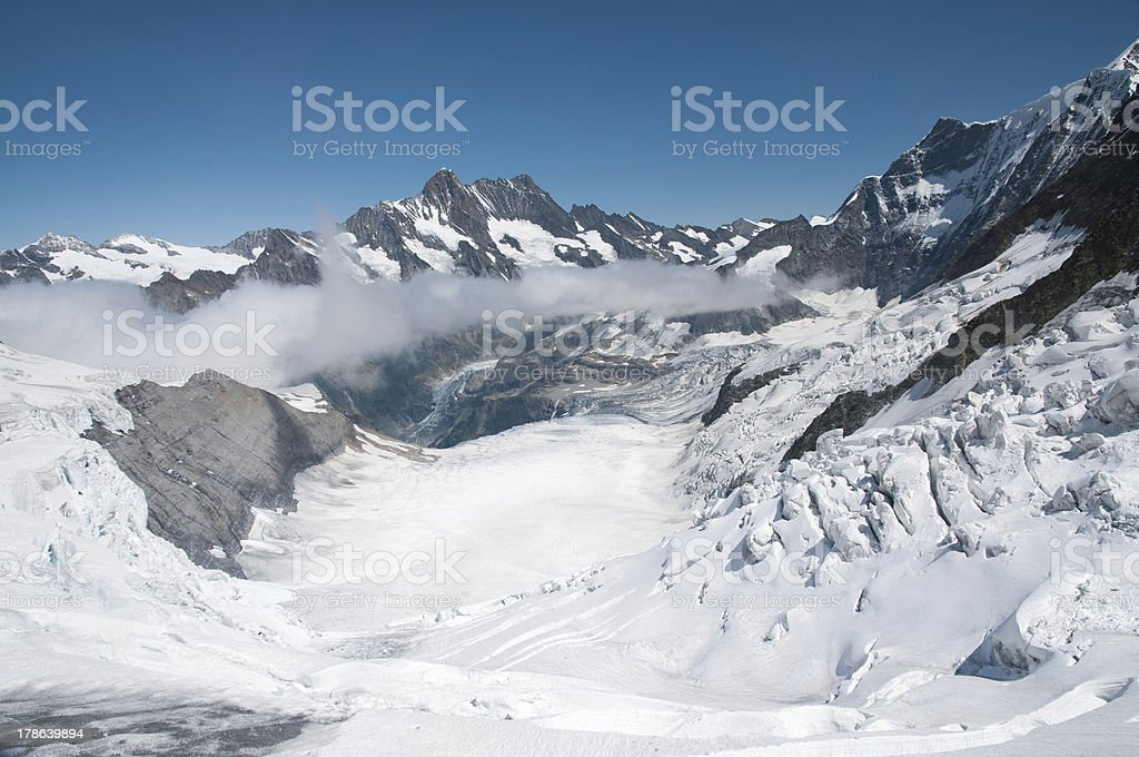 Eismeer Glacier royalty-free stock photo