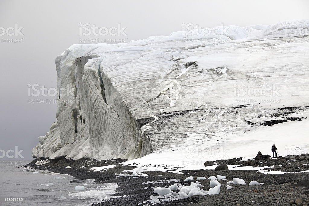 Arctic glaciers royalty-free stock photo