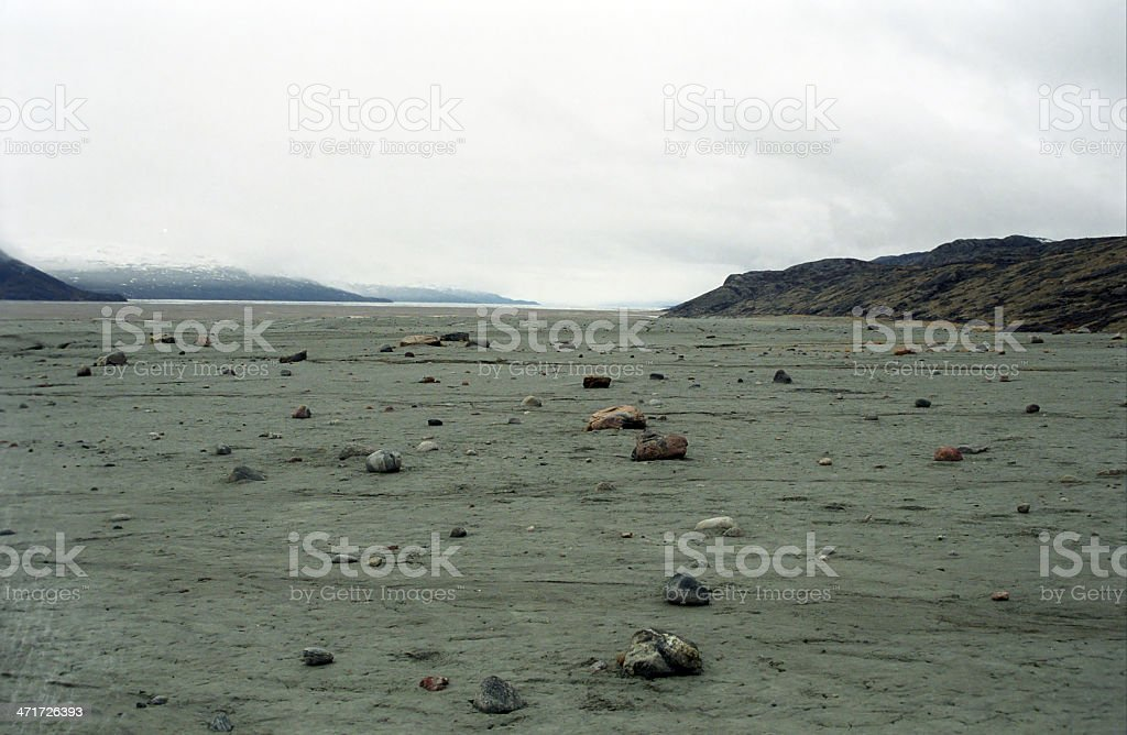 Arctic landscape, Kangerlussuaq, Greenland royalty-free stock photo