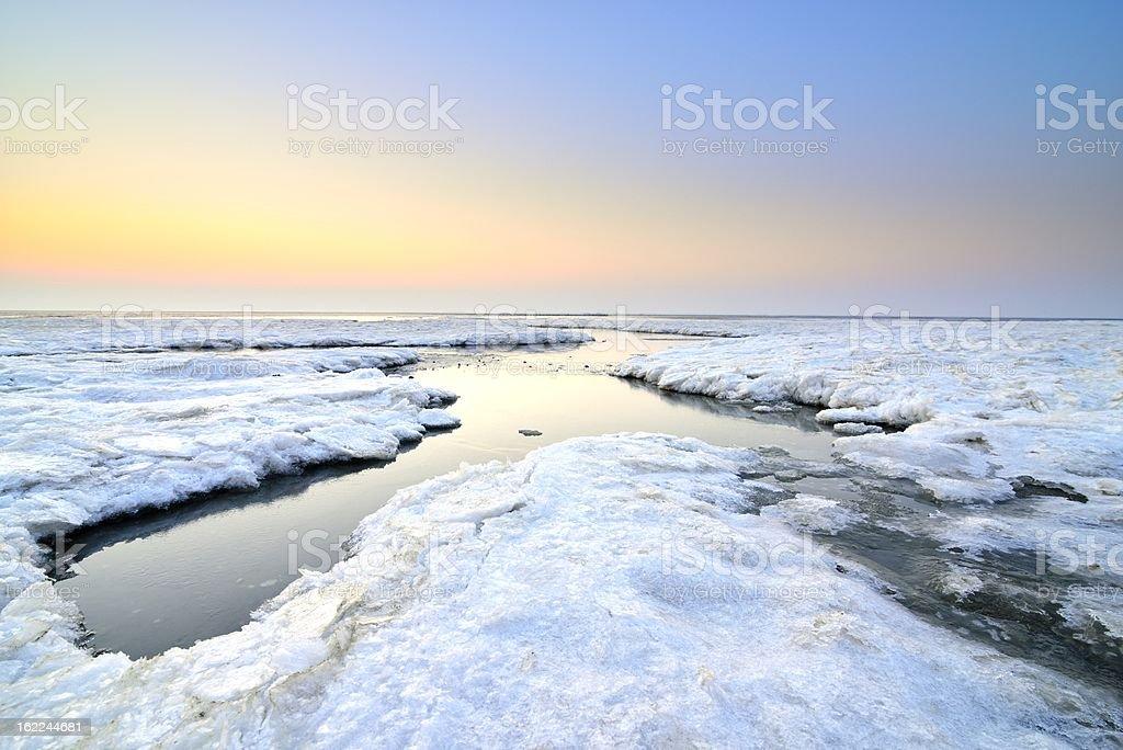 Arctic Landscape royalty-free stock photo