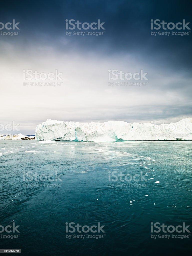 Arctic Ocean Majestic Iceberg North Pole XXXL royalty-free stock photo