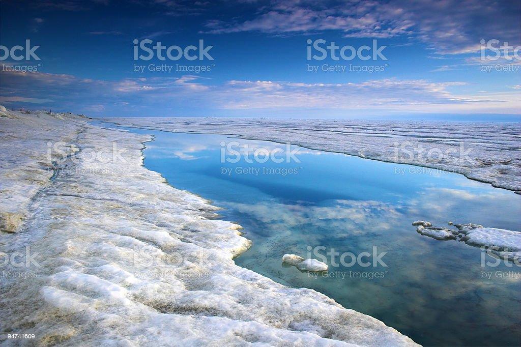 Arctic Ocean royalty-free stock photo