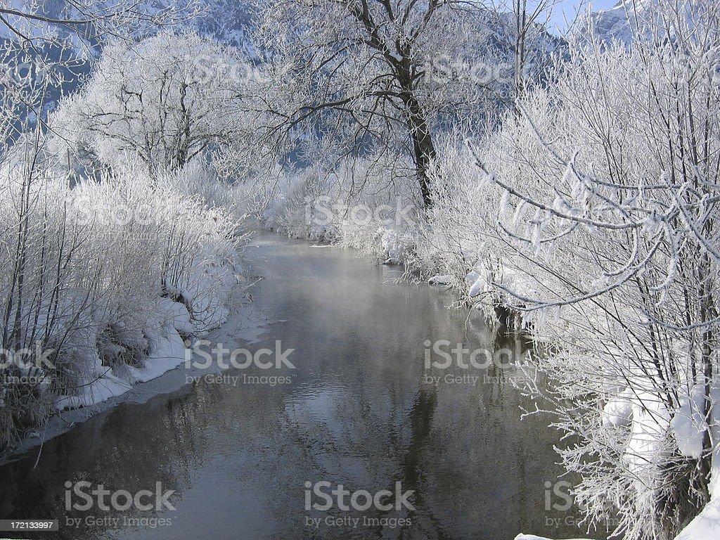 arctic river royalty-free stock photo