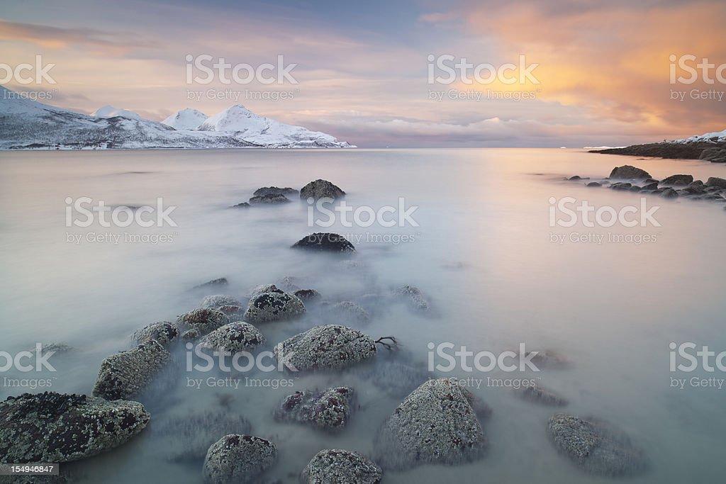 Arctic Seascape royalty-free stock photo