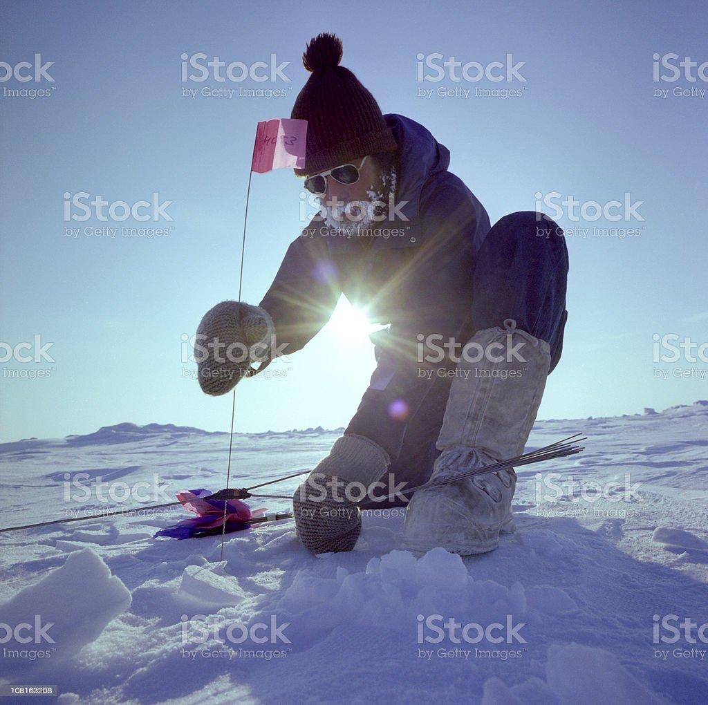 Arctic Seismic royalty-free stock photo