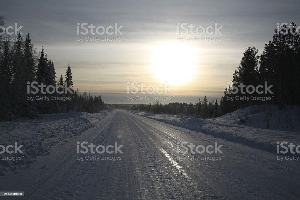 Arctic travels stock photo