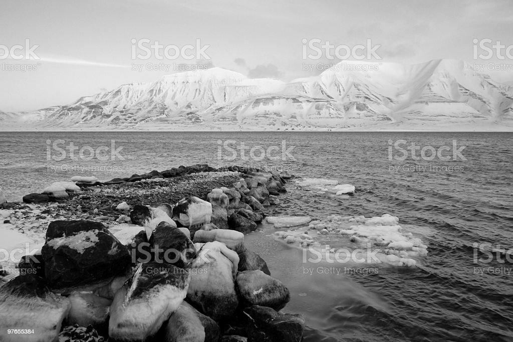 Arctic wilderness royalty-free stock photo