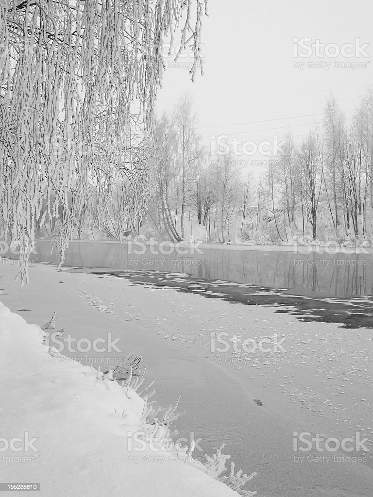 Arctic winter royalty-free stock photo