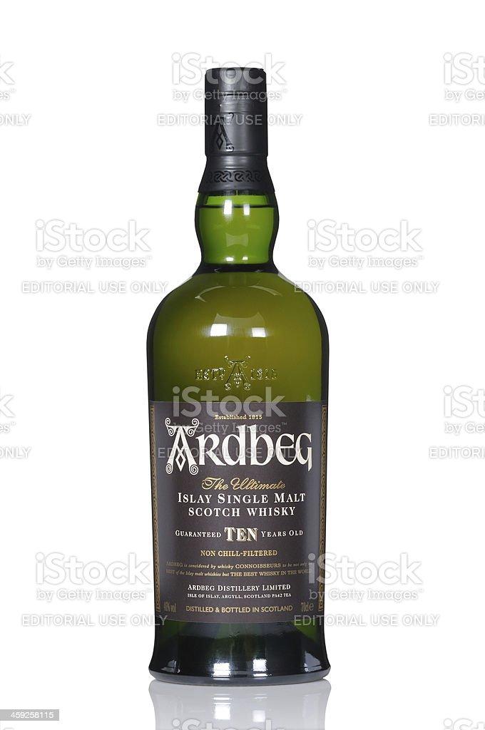 Ardbeg Ten whisky stock photo