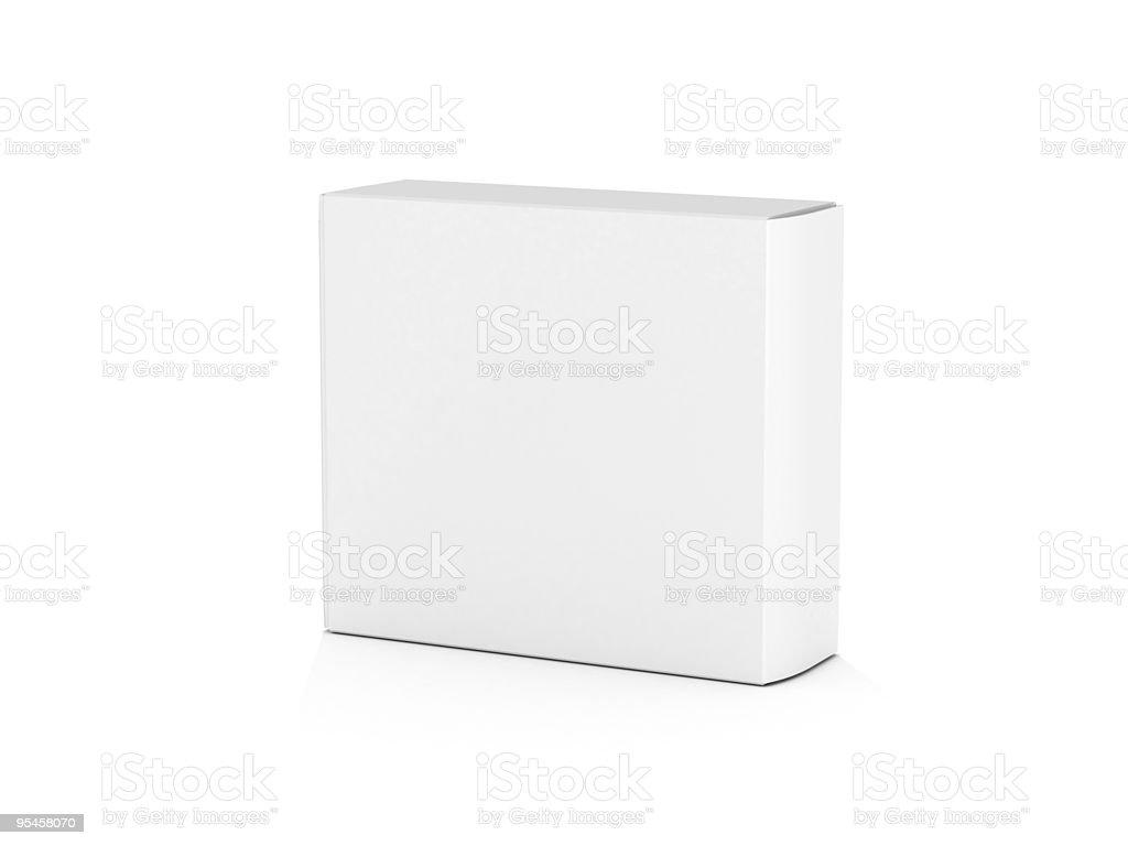 Сardboard box stock photo