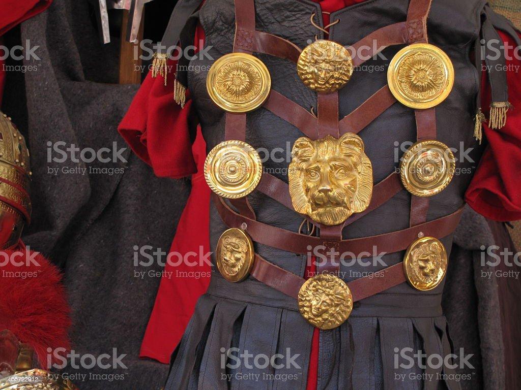 Arde Lucus Roman Emperor costume stock photo