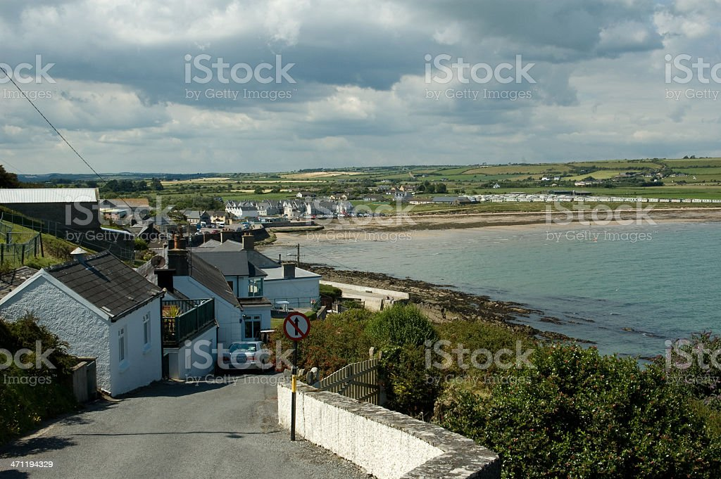 Ardmore County Waterford Ireland stock photo