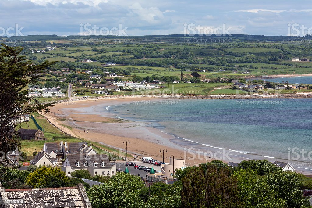 Ardmore - County Waterford - Ireland stock photo