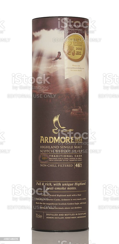 Ardmore whisky royalty-free stock photo