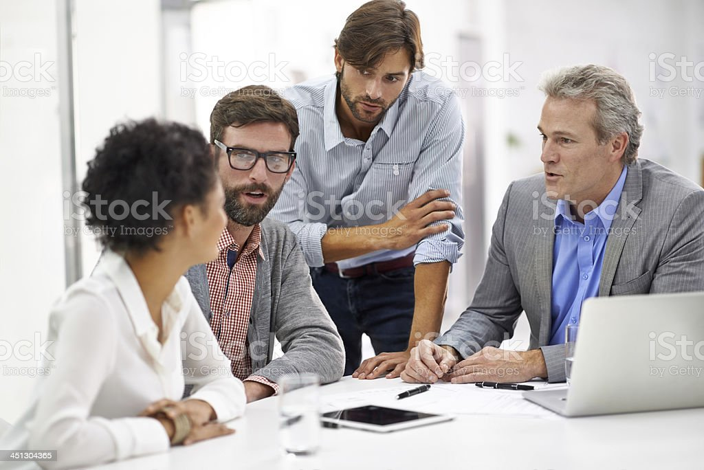 Are we all on the same page here? stock photo