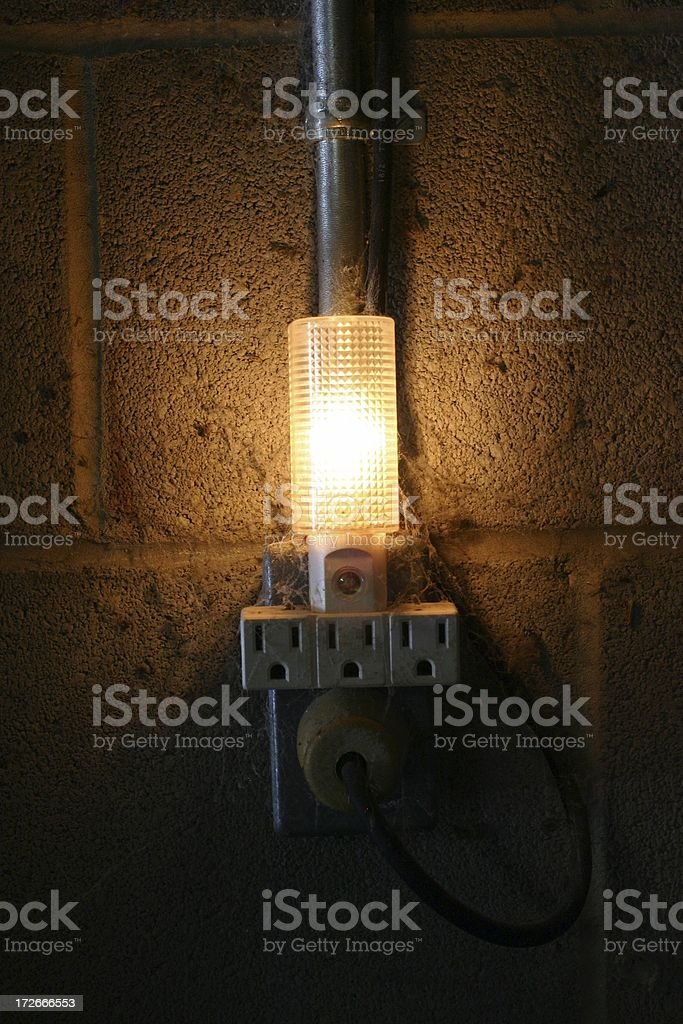 Are You Afraid of the Dark? royalty-free stock photo